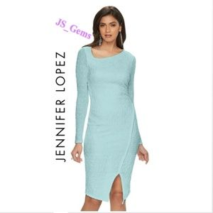 Sequin & Pearl Textured Sweater Dress Female Cloth